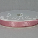 LIGHT PINK 10mm Double faced satin ribbon 20m roll