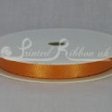 ORANGE 10mm Double faced satin ribbon 20m roll