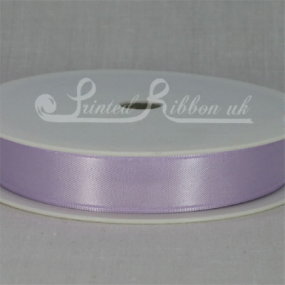 RD15LILC25M LILAC 15mm Double faced satin ribbon - 25m roll