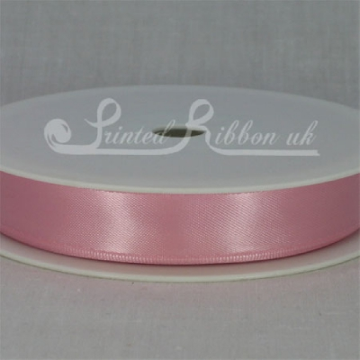 RD15LPNK25M LIGHT PINK 15mm Double faced satin ribbon - 25m roll
