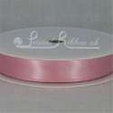 Light Pink (baby pink) 15mm satin ribbon roll