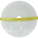7mm Yellow printed ribbon, personalised or corporate  25m