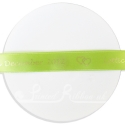 15mm wide lime green personalised printed ribbon 25m roll