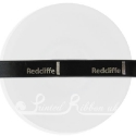 15mm black satin printed ribbon, personalised printed ribbon, bespoke ribbon 25m roll