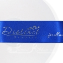 38mm Royal Blue personalised, bespoke, printed ribbon 50m