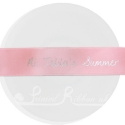 25mm wide Light Pink personalised bespoke printed ribbon