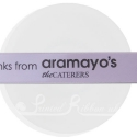 25mm Lilac ribbon with personalised bespoke print - 25m