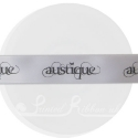 25mm Silver ribbon with personalised bespoke print - 25m.