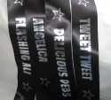individual custom printed personalised hen night sashes