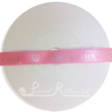 10mm custom printed personalised double faced satin ribbon