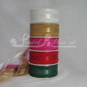 38mm Organza Satin Stripe - 9 Vibrant colours - beautiful plain or printed