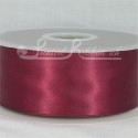 50mm wide burgundy double faced satin woven ribbon 50m long competitive price