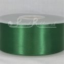 50mm wide dark green double faced satin woven ribbon 50m long competitive price