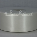 50mm wide ivory double faced satin woven ribbon 50m long competitive price