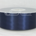 50mm wide navy blue double faced satin woven ribbon 50m long competitive price