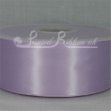 50mm wide lilac double faced satin woven ribbon 50m long competitive price