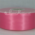 50mm wide hot pink double faced satin woven ribbon 50m long competitive price