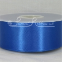 50mm wide royal blue double faced satin woven ribbon 50m long competitive price