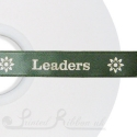 15mm 50m sage or olive green personalised printed bespoke ribbon 50 roll