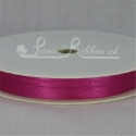 7mm Beauty Pink plain satin ribbon