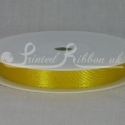 10mm sunflower yellow satin ribbon, bright yellow double faced satin ribbon