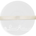 10mm cream satin ribbon, cream double faced satin ribbon, 25m roll