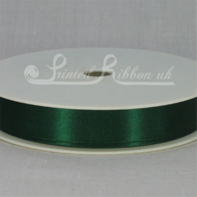 RD15DDGN25M CHRISTMAS GREEN / BONSAI GREEN 15mm Double faced satin ribbon - 25m roll