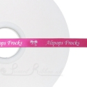 10mm beauty pink ribbon with pesrsonalised wedding message 50m