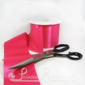 Fuchsia Shocking PINK 100mm Single Faced Satin Ribbon by the metre