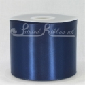 NAVY Blue 100mm Satin Ribbon 50 metre roll