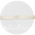 10mm cream satin personalised wedding ribbon 10mm cream printed wedding ribbon for favours 25m