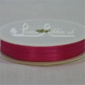 3mm fuchsia satin ribbon, 3mm bright pink double faced satin ribbon 50m roll