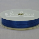 3mm royal blue plain satin ribbon double faced satin ribbon by roll 50m reel