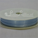 3mm light blue satin ribbon, 3mm baby blue double faced satin ribbon, 3mm pale blue satin ribbon