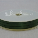 3mm green satin ribbon