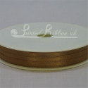 3mm gold satin ribbon