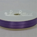 3mm light purple plain satin ribbon