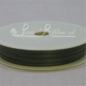 3mm sage green olive green plain satin ribbon