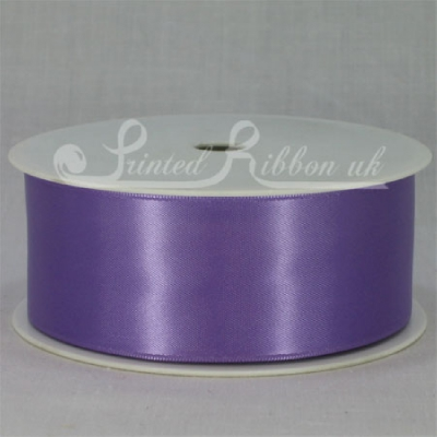 RD38LPUR25M LIGHT PURPLE 38mm Double faced satin ribbon - 25m