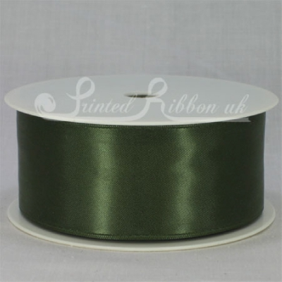 RD38SAGE25M SAGE GREEN 38mm Double faced satin ribbon - 25m