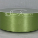 50MM APPLE GREEN PLAIN SATIN RIBBON