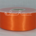 50MM BRIGHT ORANGE PLAIN SATIN RIBBON