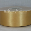 50MM BRONZE PLAIN SATIN RIBBON