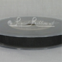 10mm Black plain grosgrain ribbon