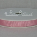 10mm Light pink plain grosgrain ribbon