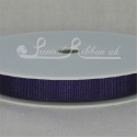 10mm Purple plain grosgrain ribbon