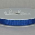 10mm Royal blue plain grosgrain ribbon
