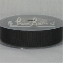 Black 22mm Grosgrain Ribbon 20m roll
