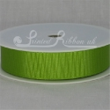 22MM LIME GREEN GROSGRAIN RIBBON