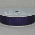 22MM PURPLE GROSGRAIN RIBBON